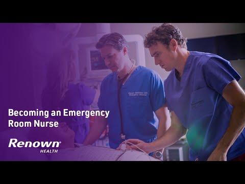 Becoming an Emergency Room Nurse