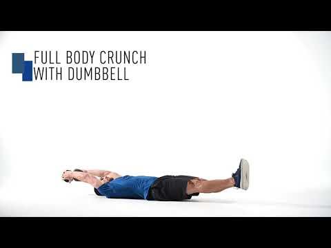 Dumbbell Full Body Crunch