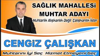Afşinli-HAKAN- Muhtar Adayı-Cengiz -Çalışkan(2019)