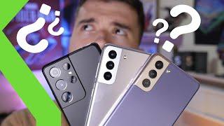 Samsung Galaxy S21 vs Galaxy S21 Plus vs Galaxy S21 Ultra: ¿Cuál me compro? - Comparativa