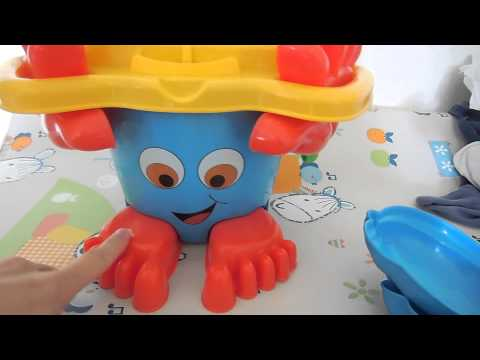 Test: Simba Toys Eimergarnitur mit Füßen | babyartikel.de