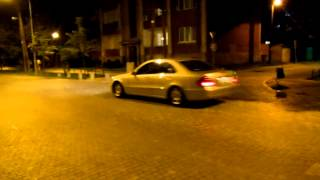 旧ユーゴスラビア・マケドニア・スコピエ市内夜の散策①,Skopje,Macedonia
