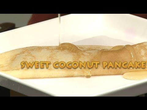 SWEET COCONUT PANCAKE