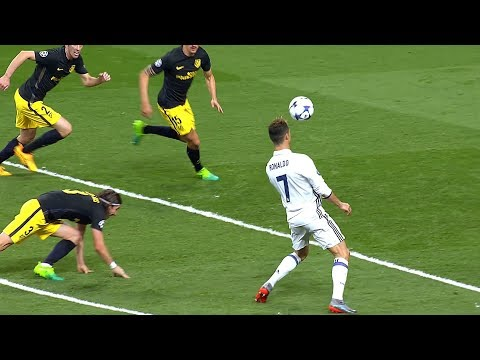Cristiano Ronaldo Single-handedly Beating Atletico Madrid   HD 1080i
