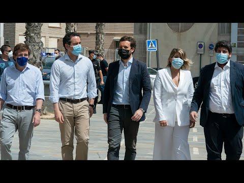 Pablo Casado clausura el acto '2 años de Gobiernos por la Libertad' con alcaldes del PP