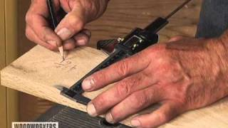 How To Set Depth Of Cut On A Jointer