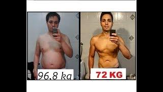 Dieta Trasformazione Fisica -30Kg|Full Week Of Eating Digiuno Intermittente -5Kg