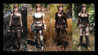 Armor Mods - Adventurers Mashup Compilation - Bless Armor - The Lily - More Triss Armor Recolours
