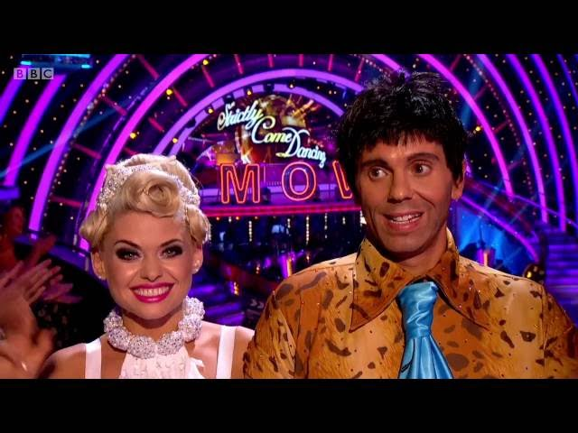 Fred Flintstone Impression for Strictly Come Dancing