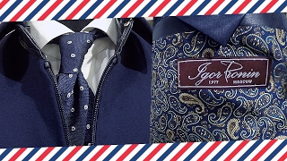Куртка на заказ: пилот из кашемира