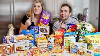 Hi.. Ive missed you. I hope you enjoy Ryland and I trying the glorious foods from the dollar store.   FOLLOW EVERYONE IN THIS VIDEO RYLAND:https://www.youtube.com/user/ryanadams7 SHANE:https://www.youtube.com/user/shane Subscribe to my channel! http://bit.ly/YouTubeMorganAdams  FOLLOW ME OTHER PLACES to see more of my poor life choices:  Instagram- https://www.instagram.com/morrganics/ Twitter- https://twitter.com/_morganadams_