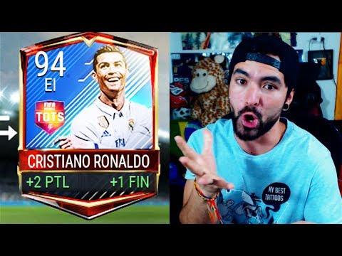 COMPRAMOS A CRISTIANO RONALDO TOTS EN FIFA MOBILE