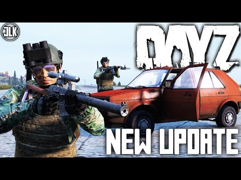 NEW DAYZ 1.03 UPDATE - New Vehicle, Weapons, NVG and More