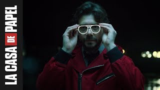 El Profesor ajustándose las gafas | Le Pofesseur ajuste ses lunettes