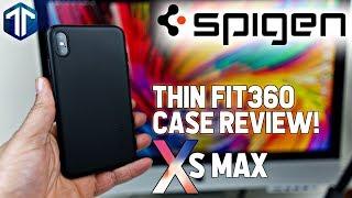 iPhone XS Max Spigen Thin Fit 360 Case Review!