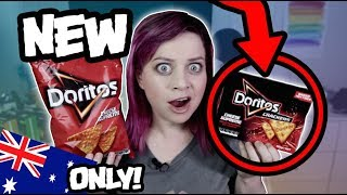TRYING NEW DORITOS CRACKERS! AUSTRALIA ONLY!
