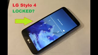 Lg Stylo 3 how to reset Screen lock  , password , pattern.....