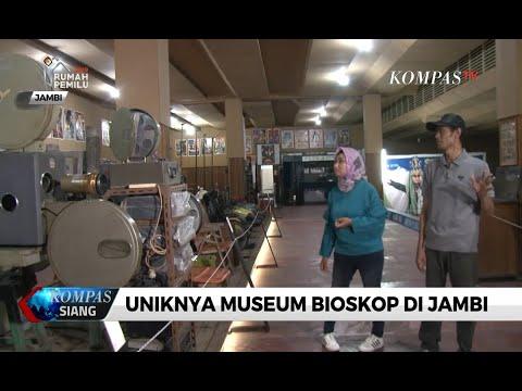 Museum bioskop  mengenang kejayaan bioskop lawas di jambi