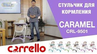 Стульчик для кормления CARRELLO Caramel CRL-9501/3 Desert Beige от компании lenigo - видео