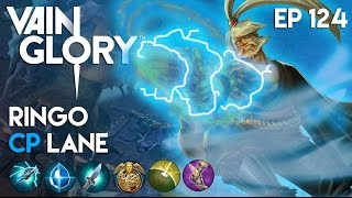 Vainglory Gameplay - Episode 124: Blue lightning Ringo |CP| Lane Gameplay |Update 1.9|