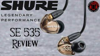 Shure SE535 In Ear Headphones Review [Deutsch/German]
