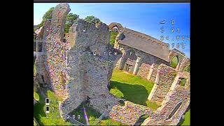 Leiston abbey freestyle(ish) #leistonabbey #nazgul5 #iflight #quad #fpv