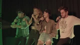 Mau Y Ricky, Becky G & Leslie Grace   Mi Mala (Remix) | Live Performance 0720 | MIAMI