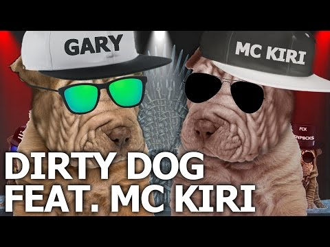 Jewish Soda - Gary Oak feat. MC Kiri -  Dirty Dog (offizielle animated klipier