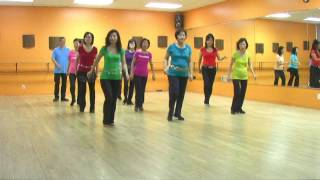 Dog River Blues - Line Dance (Dance & Teach in English & 中文)