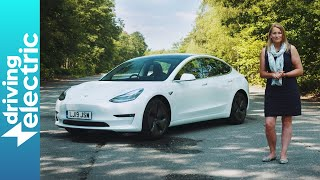 Tesla model 3 SR+ – Video Review by DrivingElectric