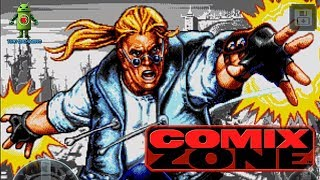 COMIX ZONE ( Android / iOS ) GAMEPLAY