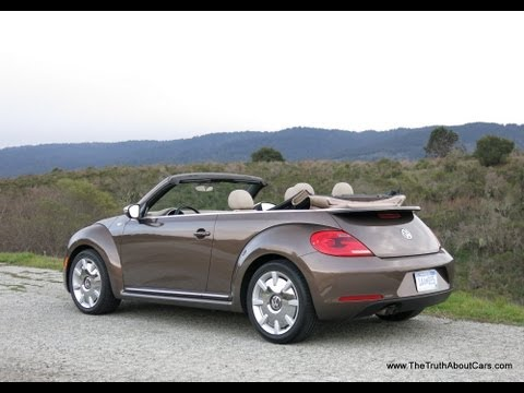 2013 Volkswagen Beetle Convertible Review & Road Test
