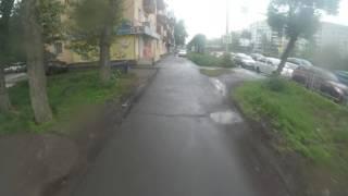 Быдло на тротуаре