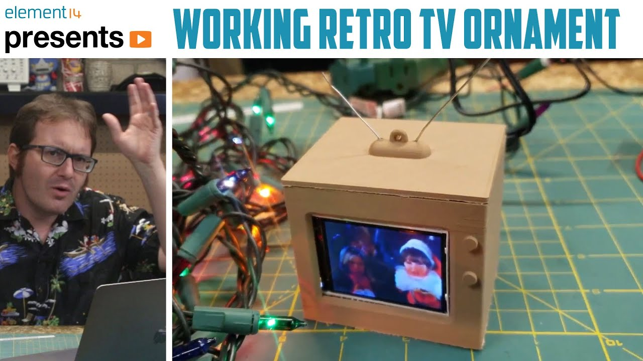 Project Rankin: A Retro-Commercial Holiday Ornament