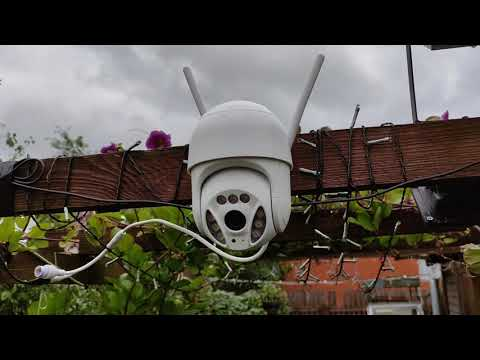 3MP поворотная WiFi камера с авто отслеживанием Anbiux PTZ WiFi camera with auto tracking