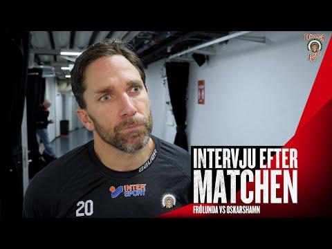 Youtube: Joel Lundqvist efter Oskarshamn – och om sina 600 poäng i Frölunda