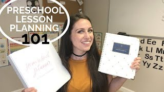 How To Lesson Plan For Preschool | The Ultimate Homeschool Planner