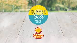 Chicken Treat Summer Sets radio ad