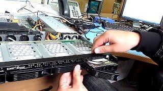 Перепрошивка системы хранения данных EMC Iomega 4px
