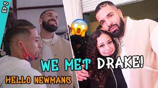 DRAKE Meets Up With Jaden & Julian Newman! Julian Makes BIG BET With Dad 👀