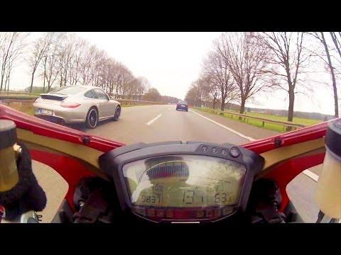 Ducati Superbike 848 vs Porsche Carrera GTS