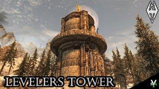 LEVELERS TOWER!!- Massive Player Home!!- Xbox Modded Skyrim Mod Showcase