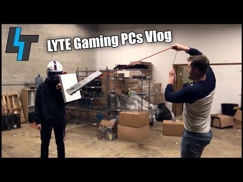 Scientific Mechanical Keyboard Rigidity Testing | LYTE Gaming PCs Vlog #8