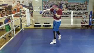 Школа бокса - групповая наработка (English subs)