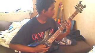 Anorexia Nervosa - Chatiment De La Rose guitar cover