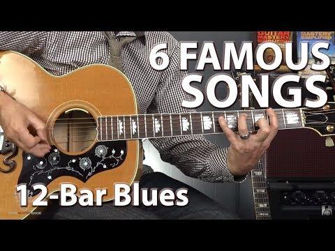 6 Famous Songs Built on the 12-Bar Blues Progression - Guitar Lesson