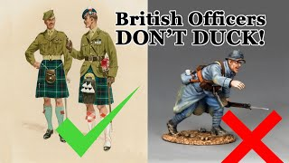 British Officers Don't Duck!
