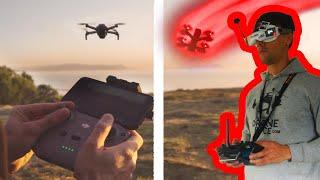 ???? Es mejor un dron FPV o DJI estabilizado?