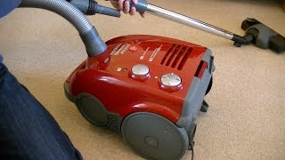 Hoover Sensory TS2165 Vacuum Cleaner Unboxing & First Look