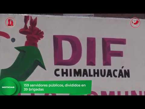 Arrancan Brigadas de Prevención COVID 19 en Chimalhuacán